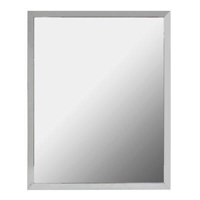 Latitude Run Framed Bathroom Vanity Mirror Aluminum Mirrors
