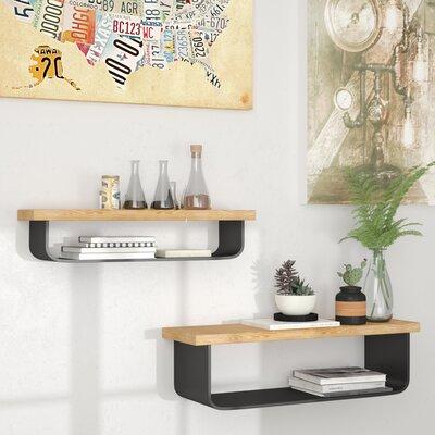 17 Stories Shelf Set Floating Shelves