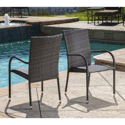 Brayden Studio Wicker Dining Chair Dining Chairs