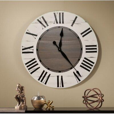 Gracie Oaks Wall Clock Vanwagoner Wall Clocks