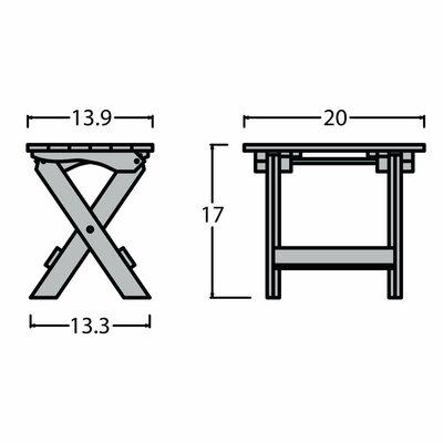 Side Table Folding 9929 Product Image