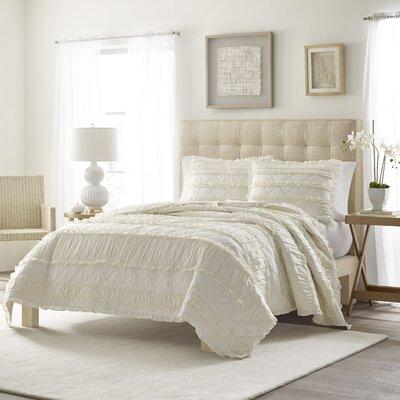 Ophelia Ruffle Quilt Set Cottage Bedsding
