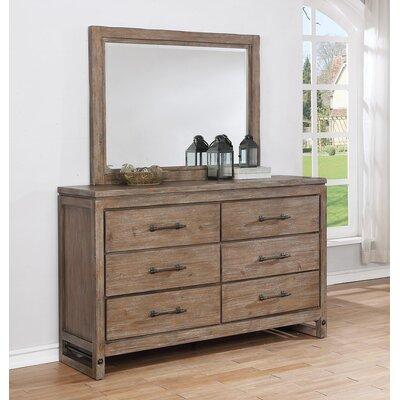 Avalon Drawer Dresser Mirror Rock Chests