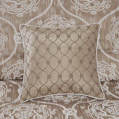 House Of Hampton Duvet Cover Set Jacquard Bedsding
