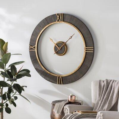 Everly Quinn Wall Clock Modern Wall Clocks