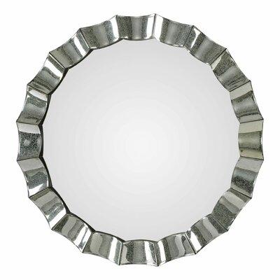 Bloomsbury Market Round Mirror Scalloped Mirrors