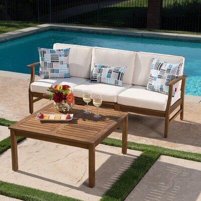 Wrought Studio Sofa Set Cushions Conversation Sets