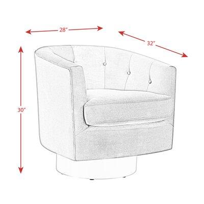 Mercer41 Barrel Swivel Chairs