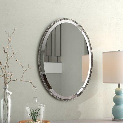 Nickel Wall Mirror Polished 28 Product Image