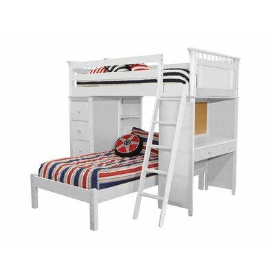 Harriet Bee Over Bunk Bed Cases Lower Platform Twin Beds