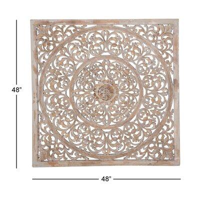 Bungalow Rose Ornate Wall Decor Wood Wall Decor