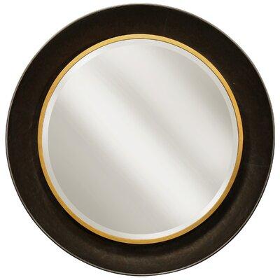 Charlton Home Beveled Mirror Round Mirrors