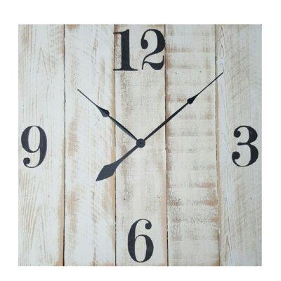 Gracie Oaks Wall Clock Albinson Wall Clocks