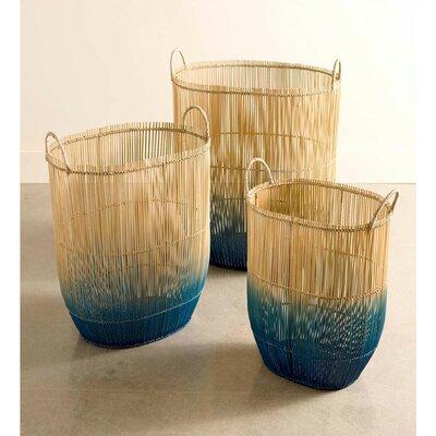 Bungalow Rose Basket Set Bamboo Storage