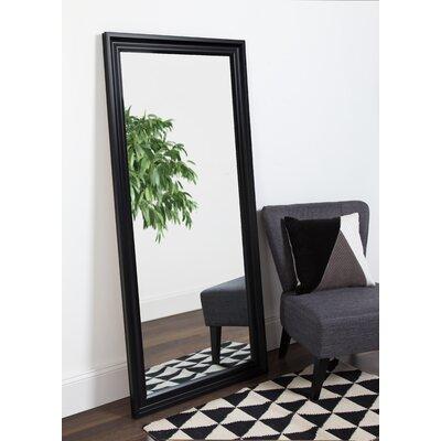 Alcott Hill Large Beveled Floor Leaner Full Length Mirror Extra Mirrors