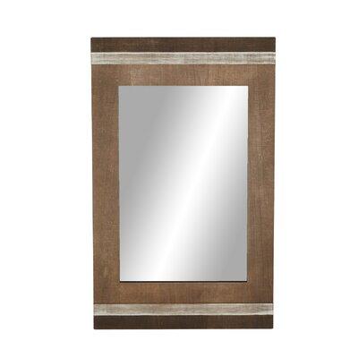 Union Rustic Rectangular Wood Full Mirror Modern Mirrors