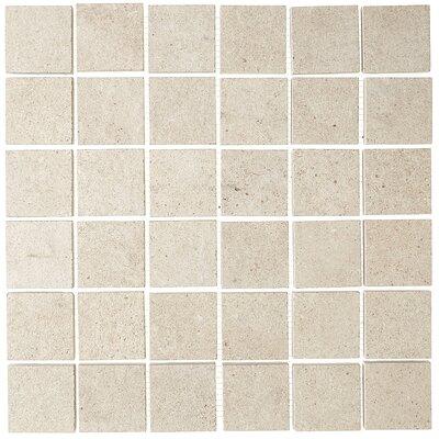 """Haut Monde 2"""" x 2"""" Ceramic Mosaic Tile in Aristocrat Cream -  Daltile, HM0722MS1P1"""