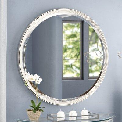 Wade Logan Wall Mirror Silver Mirrors