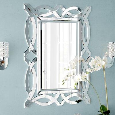Rosdorf Park Wood Wall Mirror Rectangle Mirrors