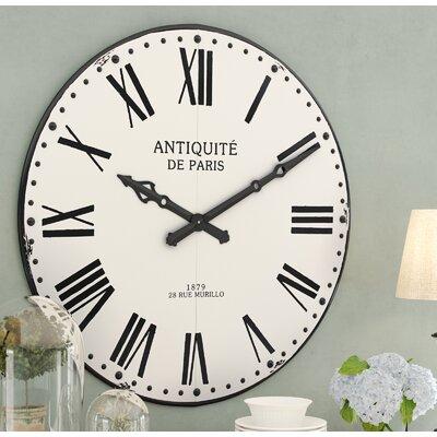 Lark Manor Round Wall Clock Adelina Wall Clocks