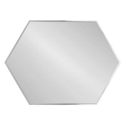 Gracie Oaks Hexagon Mirror Mid Mirrors