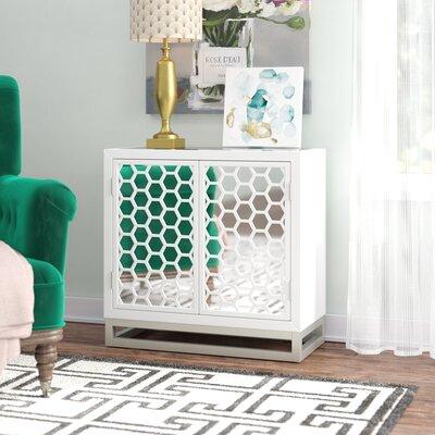 Willa Arlo Interiors Door Cabinet Honeycomb Chests Cabinets