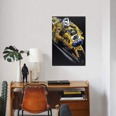 'Rossi' Graphic Art Print on Canvas 302C7D7ECB48479397A525C6CD39B74C
