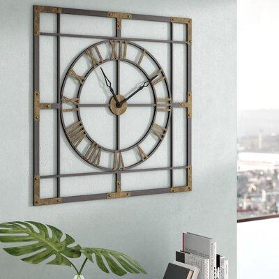 Williston Forge Industrial Wall Clock Holdsworth Wall Clocks