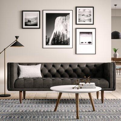 Mercer41 Chesterfield Sofa Velvet Sofas