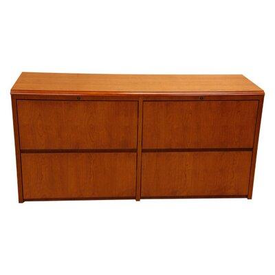 Carmel Credenza Desk Mahogany