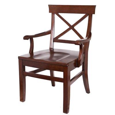 Birdrock Home Wood Dining Chair Mahogany
