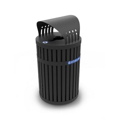 Commercial Zone Trash Recycling Bin