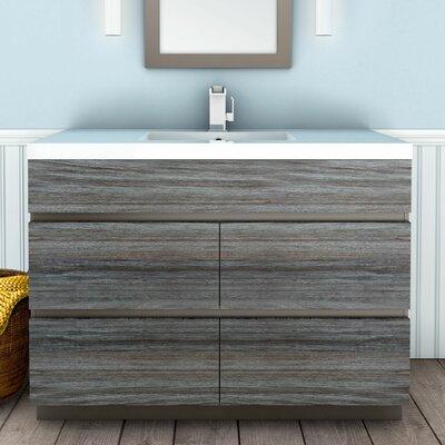 Cutler Kitchen Bath Single Bathroom Vanity Set