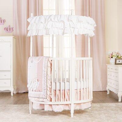 Dream On Me Posh Mini Crib White