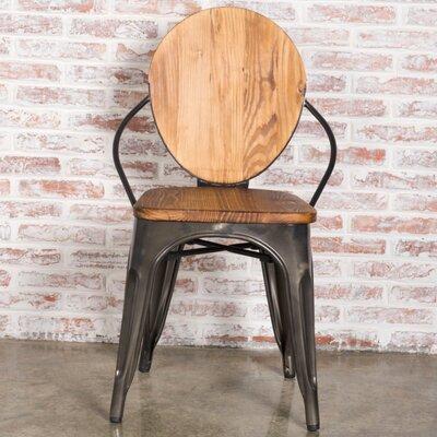 Fine Mod Wood Dining Chair Walnut