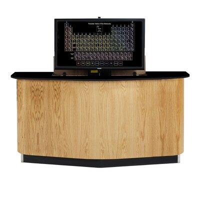 Diversified Woodcrafts Resin Executive Desk