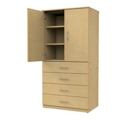 Marco Group Door Storage Cabinet Fusion Maple Fusion Maple Door Non Locking