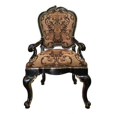 Eastern Legends Quarter Upholstered Dining Arm Chair Set