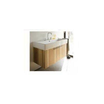 Duravit Single Bathroom Vanity Base American Cherry Tree Faucet