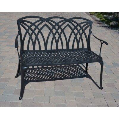 Dhc Cast Aluminum Garden Bench