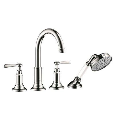 Axor Montreux Handle Deck Mounted Roman Tub Faucet Hand Shower Chrome
