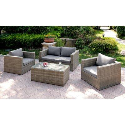 A J Homes Studio Set Cushions Gray
