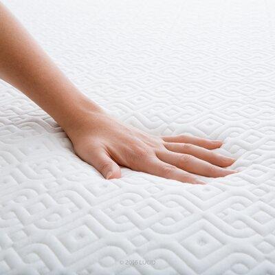 Lucid Gel Memory Foam Mattress Plush Mattresses