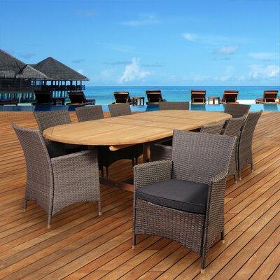 Beachcrest Home Teak Dining Set Cushions