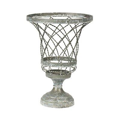 Twisted Wire Metal Urn Planter -  Aidan Gray, G161