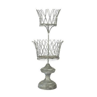 Double Wire Metal Urn Planter -  Aidan Gray, G162