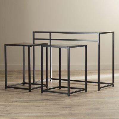 Ebern Designs Console Table Set Glass Sofa Console Table