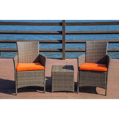Zipcode Design Seating Group Cushions Rattan Conversation Sets