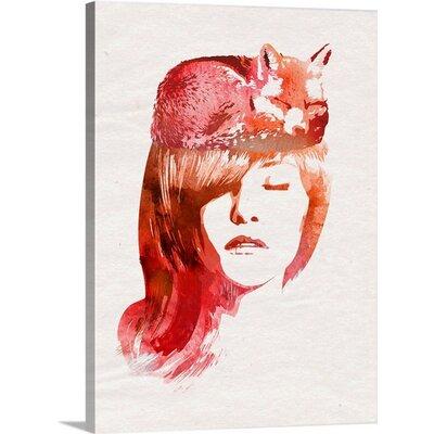 "'Perfect Silence' Robert Farkas Graphic Art Print Size: 36"" H x 27"" W x 1.5"" D, Format: Canvas 2326115_1_27x36_none"