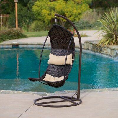 Bayou Breeze Swing Chair Stand Wicker Hammocks